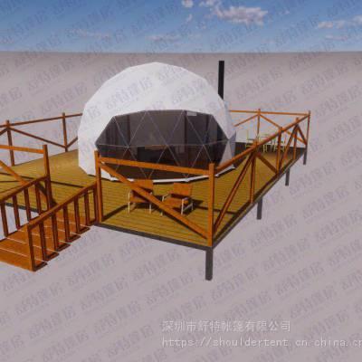 旅游酒店住宿球形帐篷定制