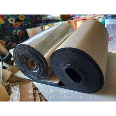 彩色吸音橡塑棉板b1级 外墙防晒阻燃隔热橡塑海绵板