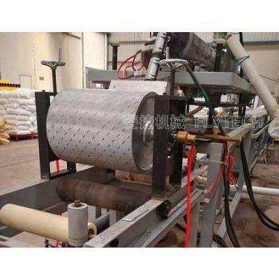 专业制造PE塑胶渔排防滑踏板生产线/海洋防滑踏板设备厂家