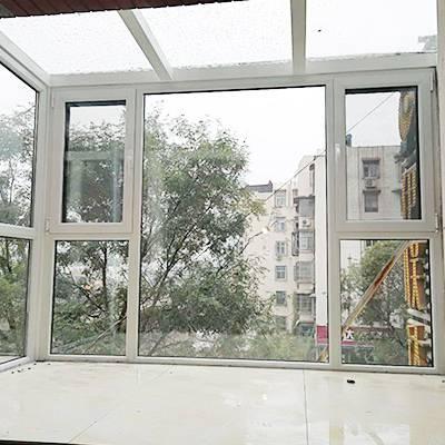 86系列隐形合页豪华版断桥铝合金门窗工程-太原伊莱德阳光房厂家