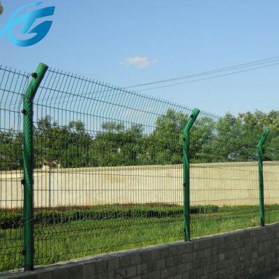 铁路防护栅栏/绿色铁丝围墙网