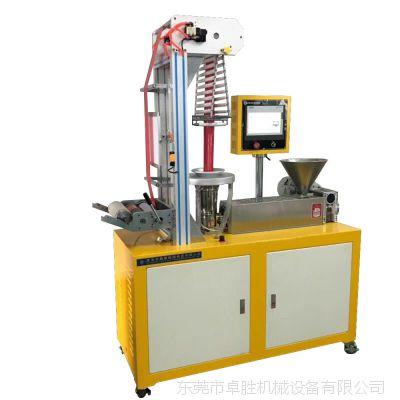 25螺杆小型实验PETG吹膜机、HDPE高低密度吹膜 卓胜ZS-430B