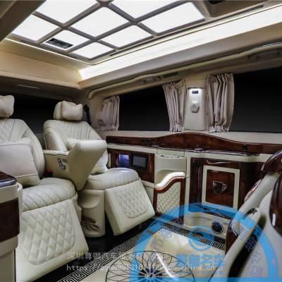 威霆高顶加装6座全隔断吧台收纳折叠椅个性私人订制升级不限车型