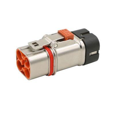 单芯120/130-250A高压大电流新能源电动汽车锂电池电源防水航空连接器