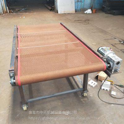 皮带输送机械 耐高温耐磨 长治皮带输送机钱中天