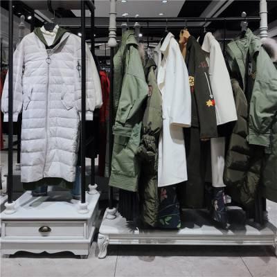 杭州品牌琢盈19冬品牌女装折扣一手货源供应桑高端品牌女装货源