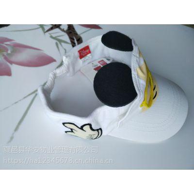 河南儿童帽子批发纯棉棒球网帽立体刺绣帽子夏季遮阳印花网帽春季儿童帽夏季旅游儿童帽遮阳帽