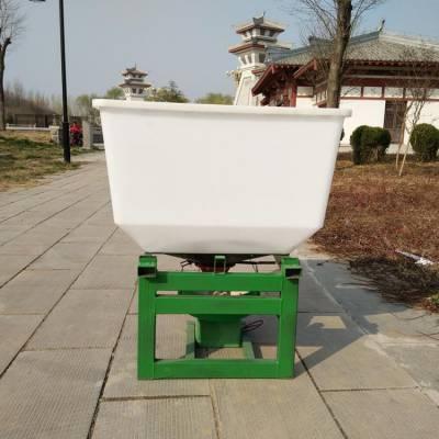 拖拉机前置电动扬肥机 高效率农用施肥器 加厚耐腐蚀电动施肥器