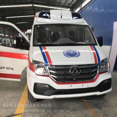 上汽大通V80救护车_私人医院用新型救护车_空间大救护车市场价