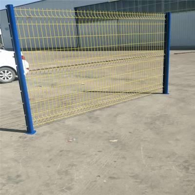 pvc隔离护栏 小区围墙护栏 桥上防护网