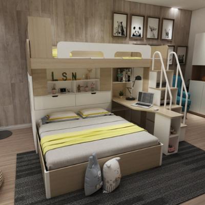 多功能高架床 成人儿童双层床 上下床 高低床 书桌衣柜组合子母床 家具