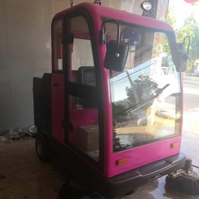 电动环保清扫车 全自动电动清扫车 鸿哲 电动清洁设备工业电瓶多功能扫路车
