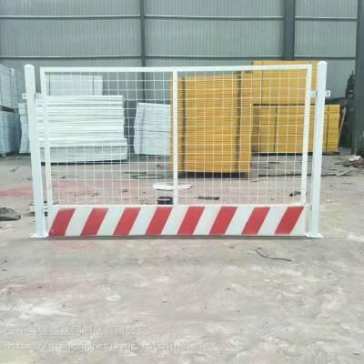 基坑临边护栏 电梯井口防护门 工地施工安全护栏