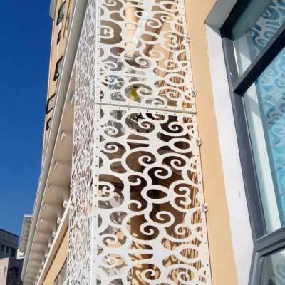 品牌氟碳铝单板幕墙厂家定制价格低 镂空雕花冲孔木纹石纹铝单板
