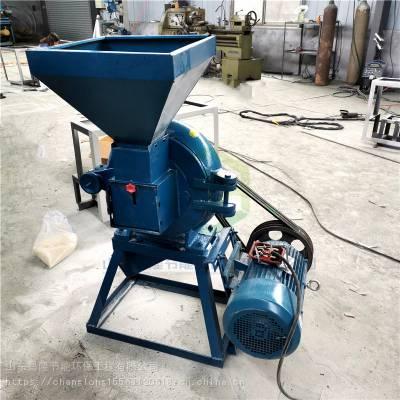 直销药店小型中药齿盘磨粉机 粉碎速度快细度可调节 粮食磨面机