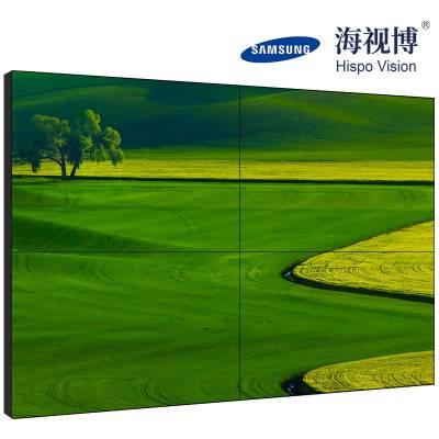 4K液晶显示屏三星面板55寸液晶拼接屏 1.88拼缝拼接显示屏会议室专用屏