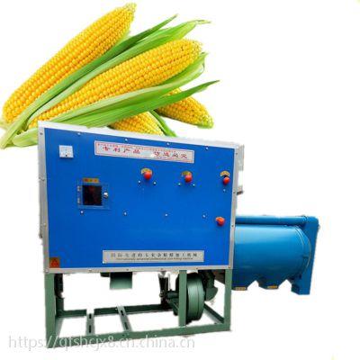 多功能谷子高粱玉米去皮机 原粮去皮碾米机 立式电动玉米制糁机