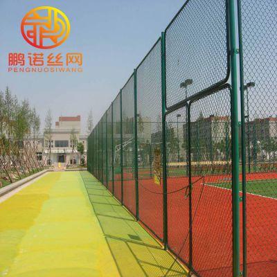 河北鹏诺销售 pvc球场围网 公路边框护栏网 高尔夫球场围网 钢丝勾花网
