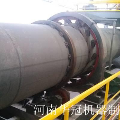 河南华冠白云石菱镁矿煅烧回转窑生产线设备厂家