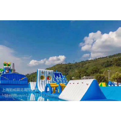 广东水上乐园资源租赁 精品龙头滑梯 22米龙鲨嬉水乐园