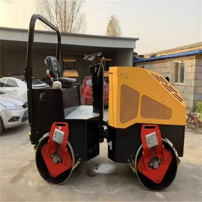 施工必备手扶小型压路机价格表单滚轮压路机现货包邮