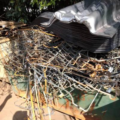 上海大量回收废金属废铁板废铁金属