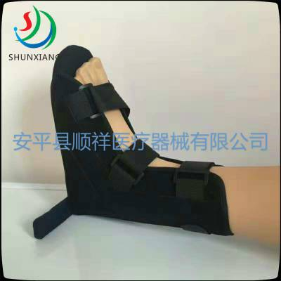 丁字木板鞋 防旋鞋 踝足固定鞋 矫正鞋 足下垂固定鞋