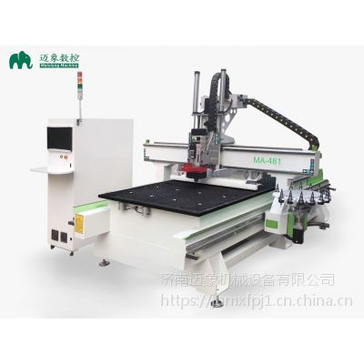电脑数控木工雕刻机 1325板式家具开料机 生产线设备一套多少钱