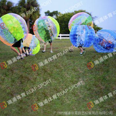 国外流行运动新玩法 足球bubble充气碰碰球 充气运动技能球批发