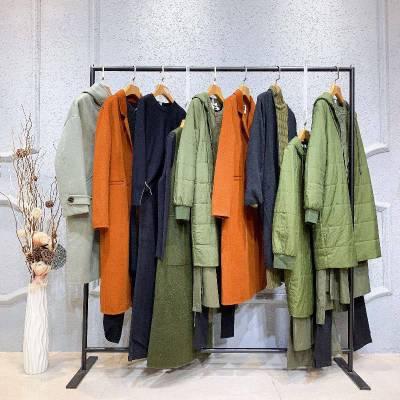 走份批发女装艾妃 AIFEI 女式衬衫库存尾货服装女装批发五分裤 品牌女装尾货公司