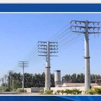 吉林市110kv金属钢杆基础打桩 110kv高压电力杆价格 顺通电力设备厂