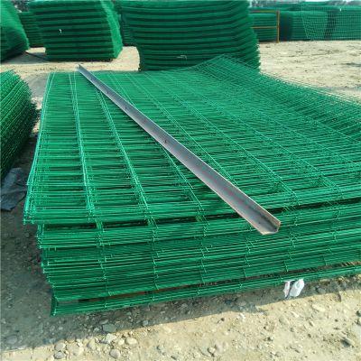 工地围栏网 双边丝护栏 施工用围栏