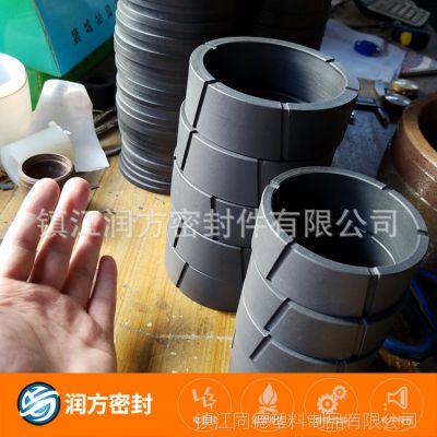 进口聚四氟乙烯PTFE耐磨环垫圈 防酸碱,承受压力高,达到36.8Mpa