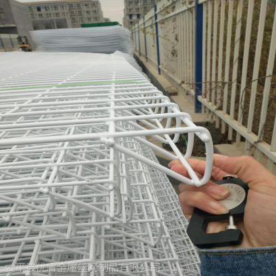 河北优盾生产双圈防护网 园林围栏网上下卷圈护栏网道路护栏网