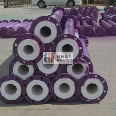 盐酸输送用衬四氟管道技术特点/产品结构/计量单位