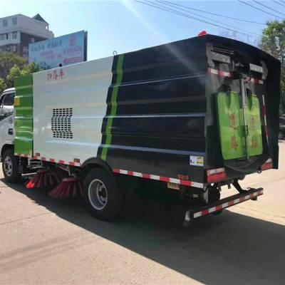 国六道路清扫车城市扫路车视频