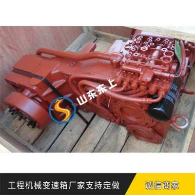 柳工856电控变速箱驱动轮转矩和转速作用采埃孚波箱