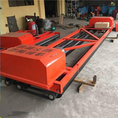路面摊铺机(三辊轴) 电动混凝土整平摊铺机支持定制