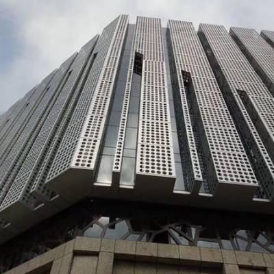 来图加工户外铝单板 双曲面铝单板 铝单板