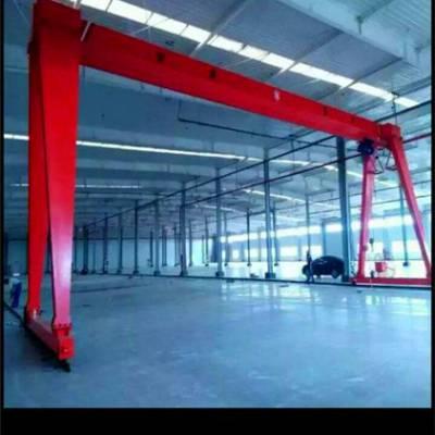 定做移动龙门吊小型龙门架 小型行车 手推移动式起重工具厂家直销