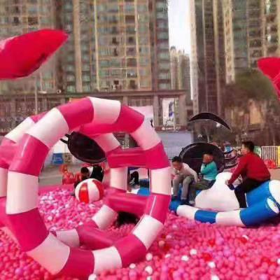 网红猪猪堡乐园 粉萌猪猪堡乐园 山东迎客松游乐设备有限公司