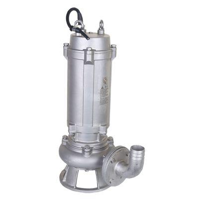 不锈钢污水泵报价 65WQP25-20-3 wqp不锈钢排污泵 潜水不锈钢排污泵