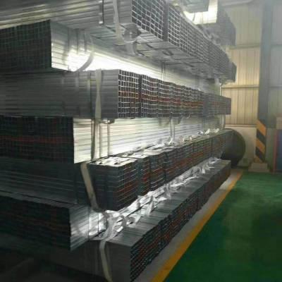 镀锌方管友发牌4寸*3.5怎样卖忻州市