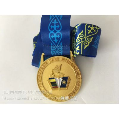 广东奖牌定做,跑步比赛奖牌制作, 烤漆金属奖章批发定制