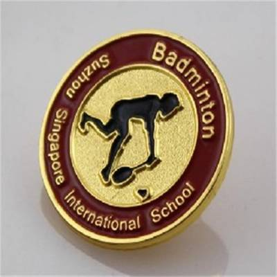 深圳哪里有做徽章的厂 高档黄铜徽章制作 找深圳做铜材料的徽章厂