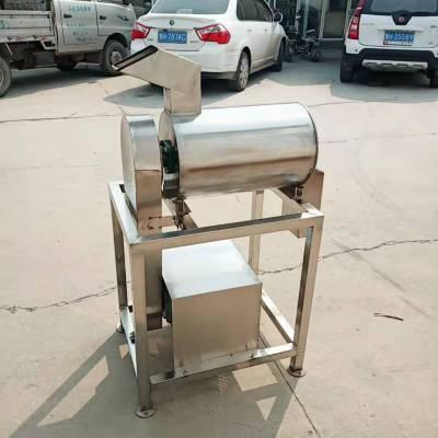 中药挤干榨汁机 0.5-2吨果蔬榨汁机商用螺旋西瓜榨汁机