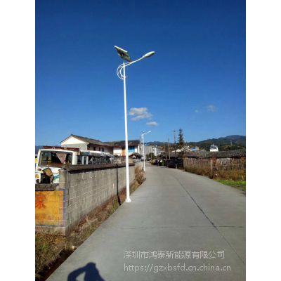 四川省攀枝花市太阳能路灯厂家 新农村锂电池5米6米30W 7米8米超亮LED户外高杆灯