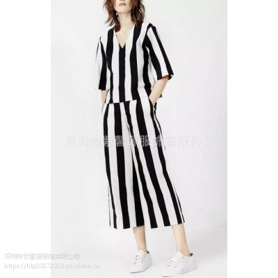 品牌折扣女装一手货批发 广州一线品牌摩安专柜女装走份 纯色现货100%棉