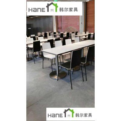 供应江浙沪外资企业员工食堂餐桌 时尚个性单位食堂餐桌椅