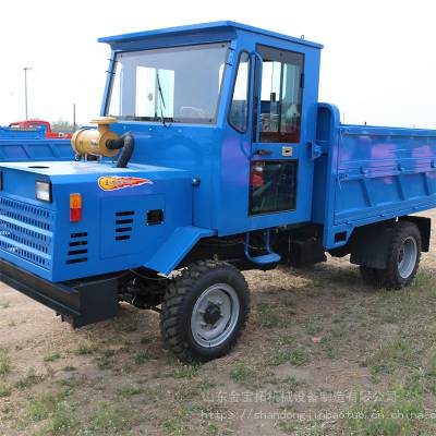 矿用四驱液压柴油四轮车_3吨四不像农用拖拉机_拉木头果园拉货用四不像车